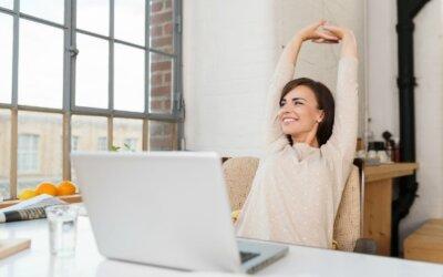 Cum te poti relaxa la birou?